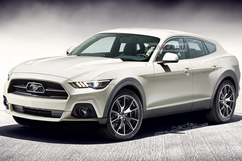 Ford Mustang Transformed Into Electric Suv Carbuzz