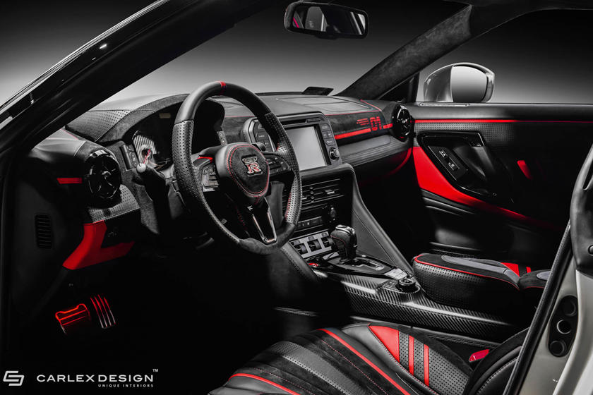 Nissan Gtr Interior >> This Is The Most Luxurious Nissan Gt R Interior You Ll Ever