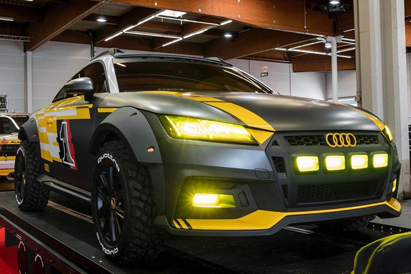 Audi Tt Safari Is The Radical Off Roader For Causing Mayhem Carbuzz
