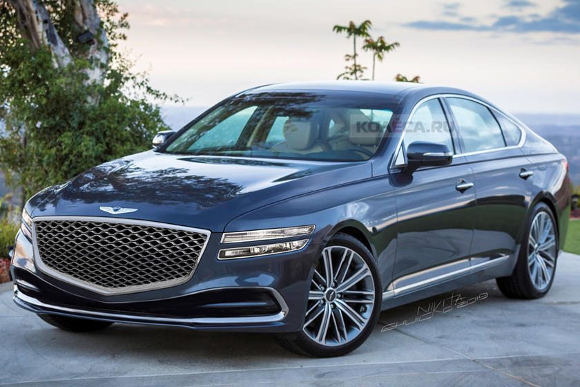 2020 Genesis G80 Is Stealing Styling Tips From Lexus Carbuzz