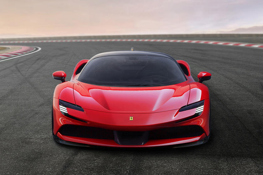 Ferrari Sf90 Stradale Review Trims Specs Price New Interior Features Exterior Design And Specifications Carbuzz