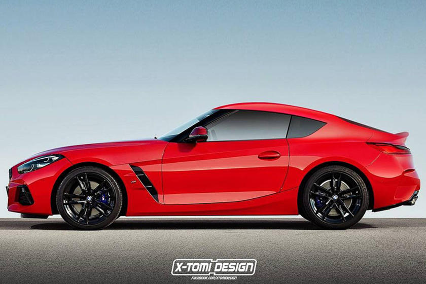 bmw has a reason for not offering the z4 as a coupe carbuzz. Black Bedroom Furniture Sets. Home Design Ideas