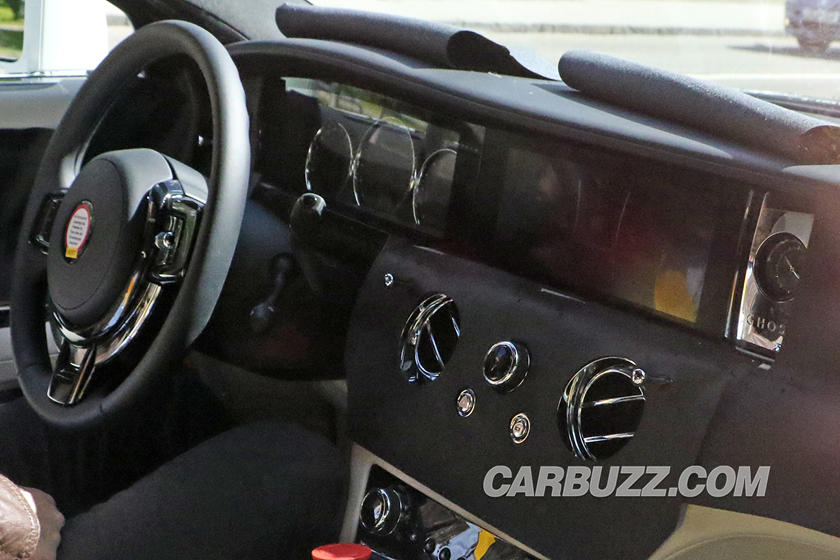 Take A First Look Inside The New Rolls Royce Ghost Carbuzz