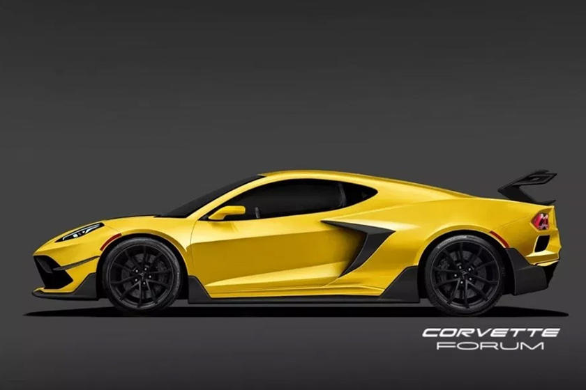 expect the c8 corvette zr1 to look almost exactly like this