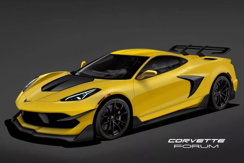 Expect The C8 Corvette ZR1 To Look Almost Exactly Like ...