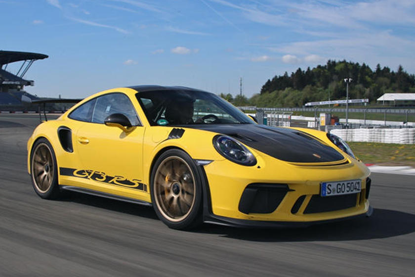 Here's What Porsche's GT Boss Thinks About An Electric 911 GT3 RS