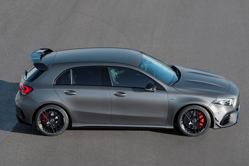Mercedes Amg A45 S Hatchback Stuns Europe With 416 Hp Carbuzz