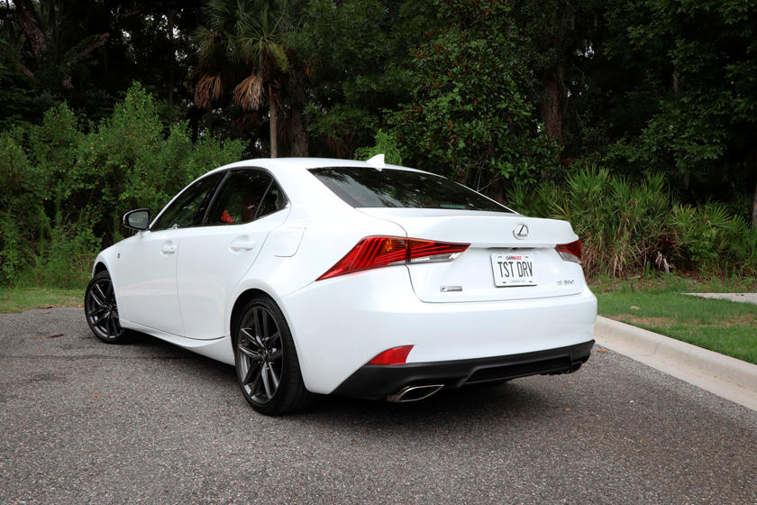 Is 350 F Sport >> The Good And Bad Of The 2019 Lexus Is 350 F Sport Carbuzz