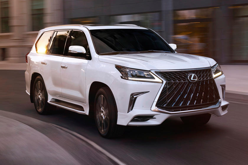 2020 Lexus LX 570 Makes Toyota Land Cruiser Look Bland | CarBuzz