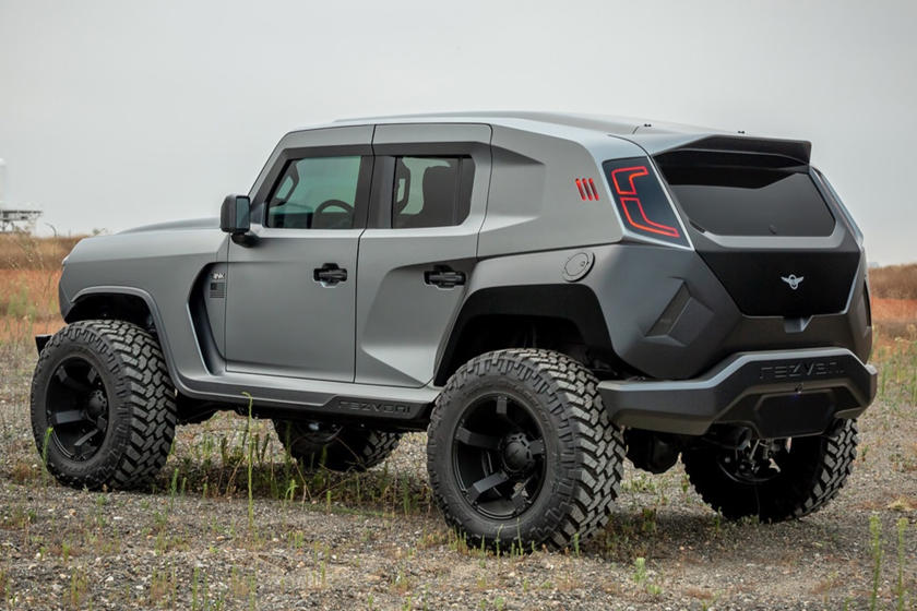 2020 Rezvani Tank Is The World S Most Powerful Production Suv Carbuzz