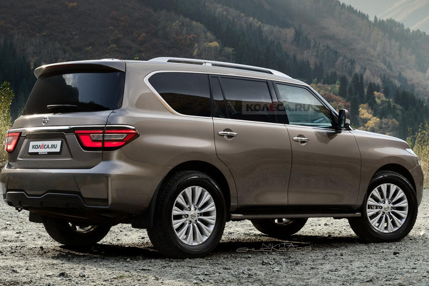 The 2020 Nissan Armada Looks Much Better Than The Current