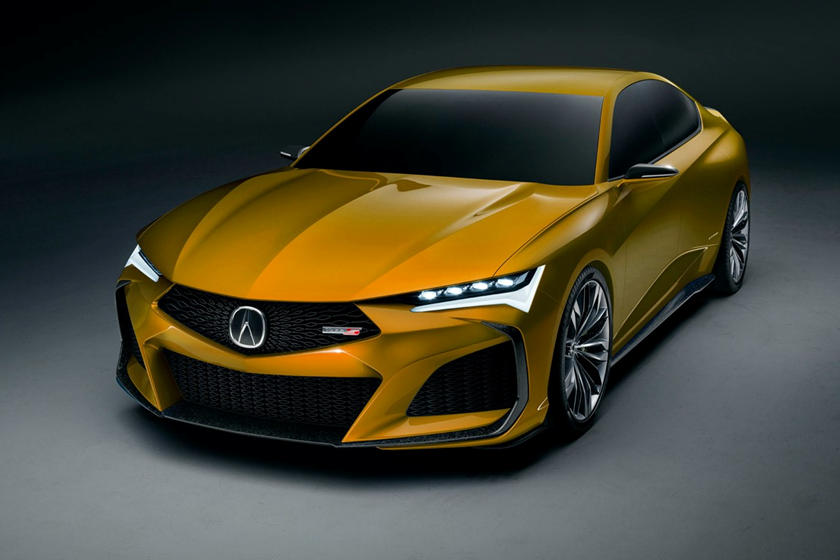 Acura Type S Concept Looks Brilliant In Every Color Carbuzz