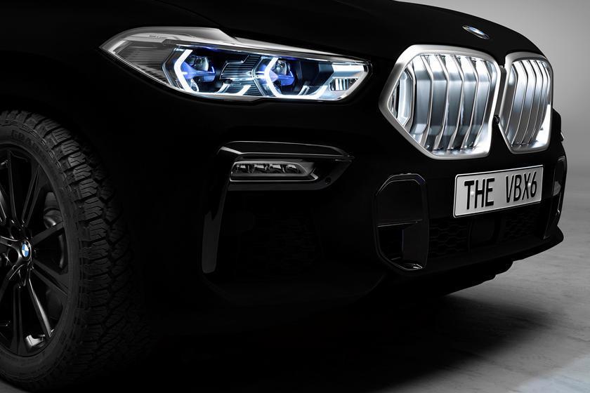 Blacker-Than-Black BMW X6 Won't Avoid The Police