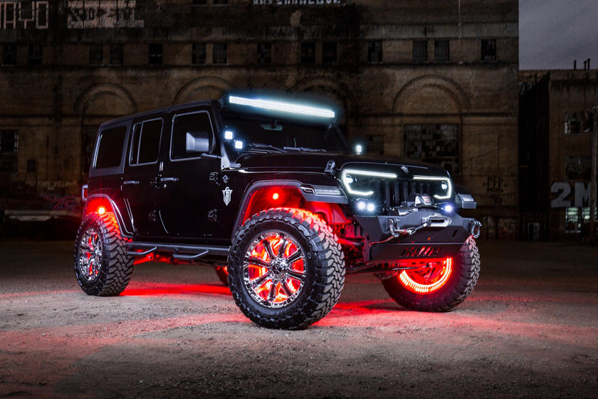 Custom Jeep Rubicon >> Custom Jeep Wrangler May Give Your Children Nightmares Carbuzz