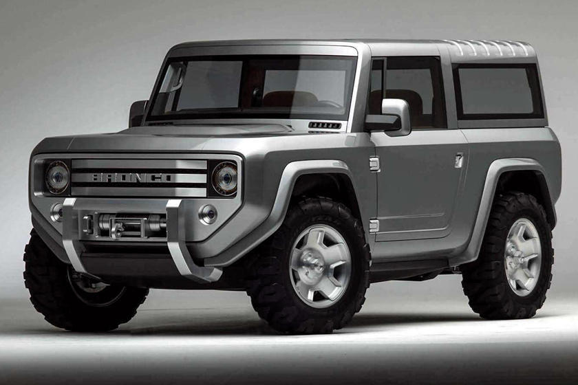 New Ford Bronco Will Be A Lot Lighter Than We Thought