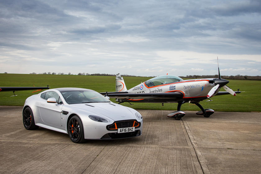 Aston Martin Shows Awesome Aviation Inspired Special Editions Carbuzz