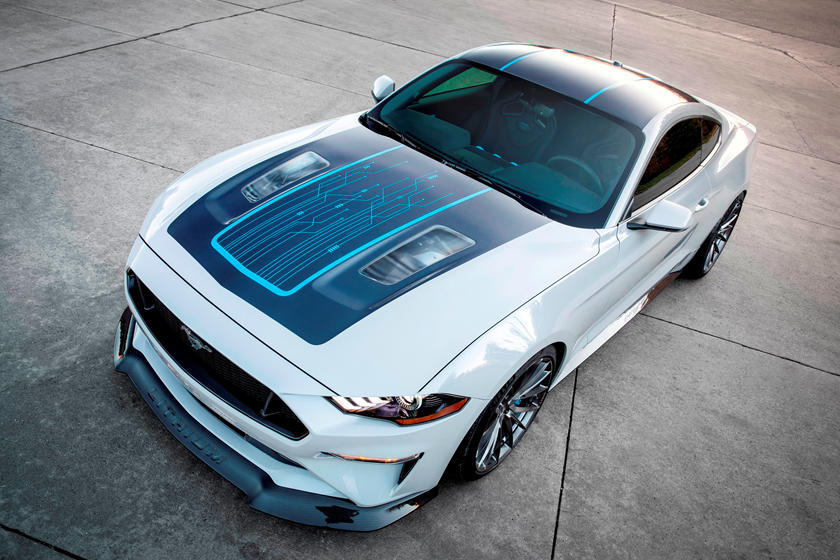 new electric ford mustang