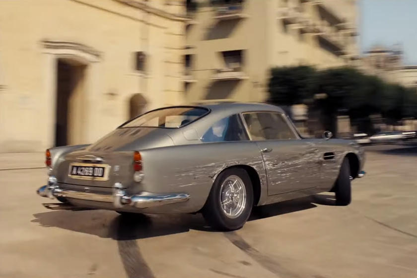 Aston Martin Db5 Takes A Beating In James Bond No Time To