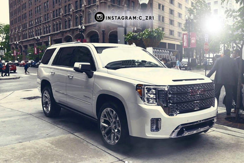 2015 Escalade For Sale >> This Is When The New 2021 GMC Yukon Will Debut | CarBuzz