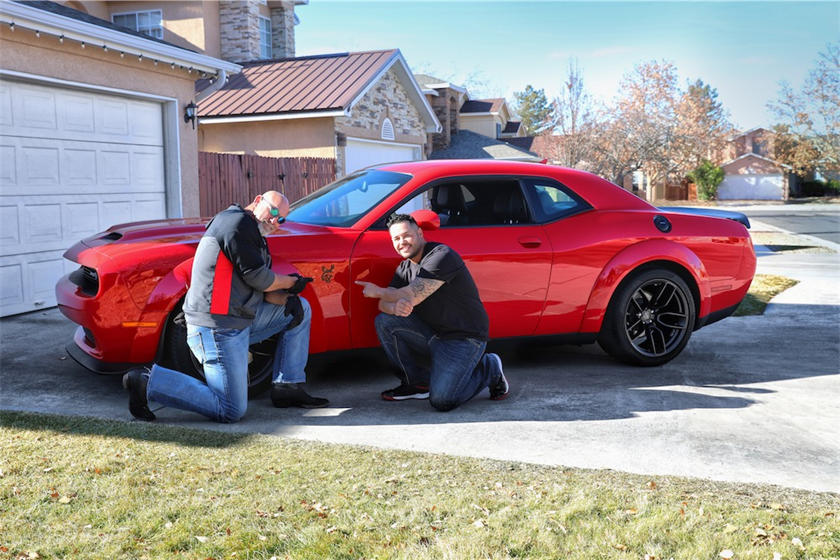 dodge hellcat question This Guy Answered An Impossible Question To Win Dodge Challenger