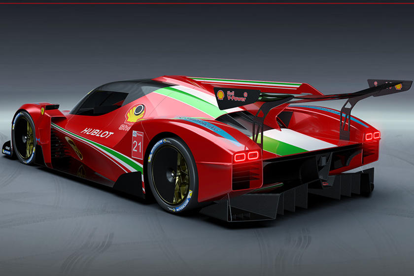 This Is What A Ferrari Le Mans Hypercar Looks Like Carbuzz