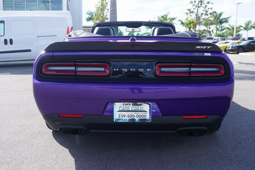 purple dodge demon convertible is the real deal carbuzz purple dodge demon convertible is the