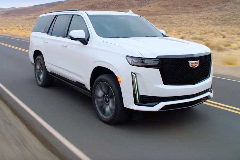 2021 Cadillac Escalade First Look Review: SUV Luxury King ...