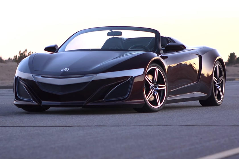 acura nsx spider finally coming in 2021  carbuzz