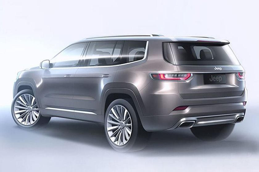 The Jeep Grand Wagoneer Is Right Around The Corner Carbuzz