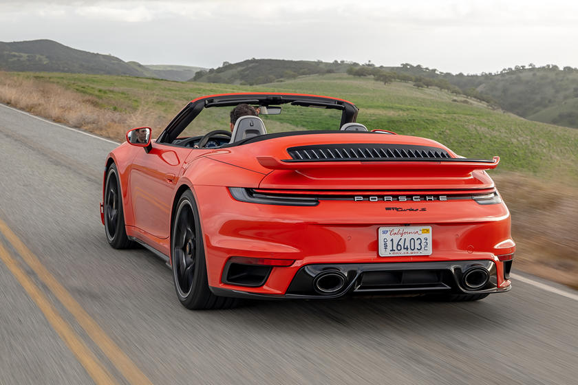 2021 Porsche 911 Turbo S Gets New Aero Kit Carbuzz