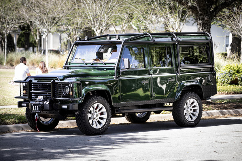 This Corvette Powered Defender 110 Has A Place For Your Shotgun Carbuzz