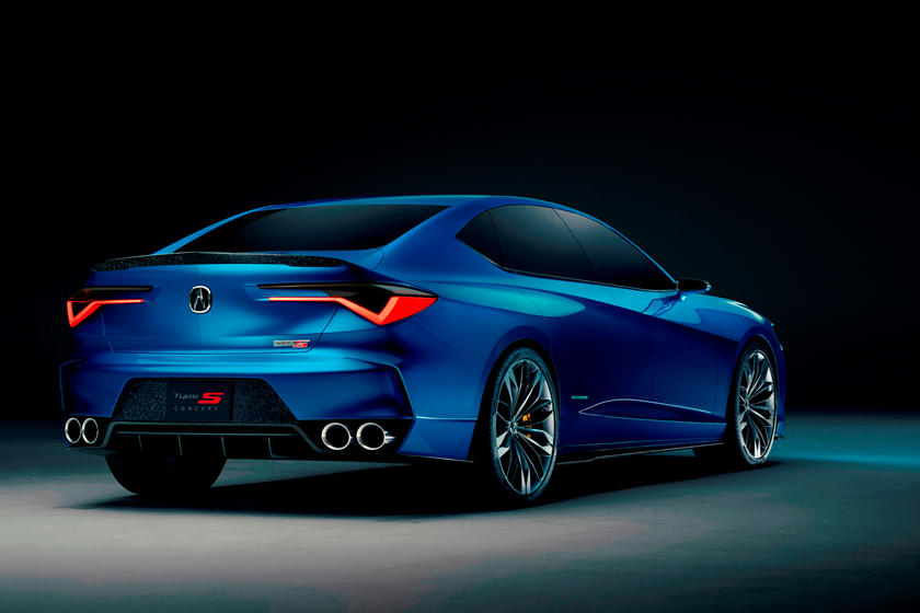 We Finally Have Proof The Hot Acura Tlx Type S Is Happening Carbuzz