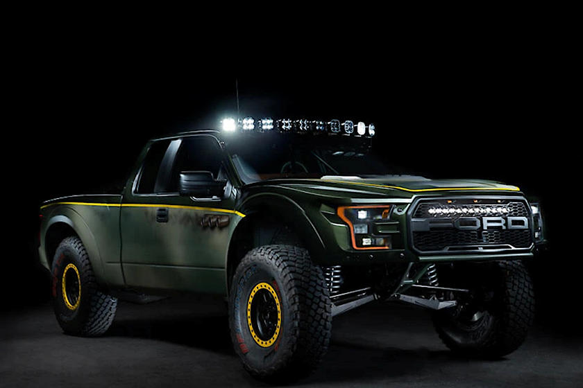Ford F 150 Raptor Gets Chevy Power And A 600 000 Price Tag Carbuzz