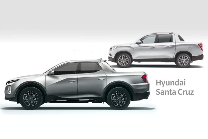 2021 hyundai santa cruz will be one slick pickup | carbuzz