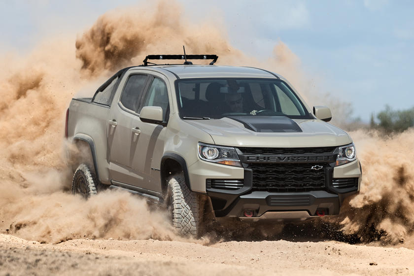 2021 Chevy Colorado Arrives With Three New Looks Carbuzz