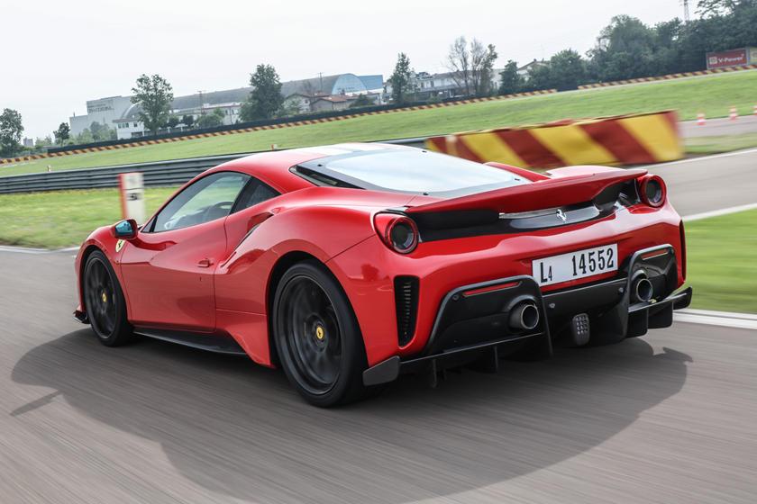 Ferrari 488 Pista Review Trims Specs Price New Interior Features Exterior Design And Specifications Carbuzz