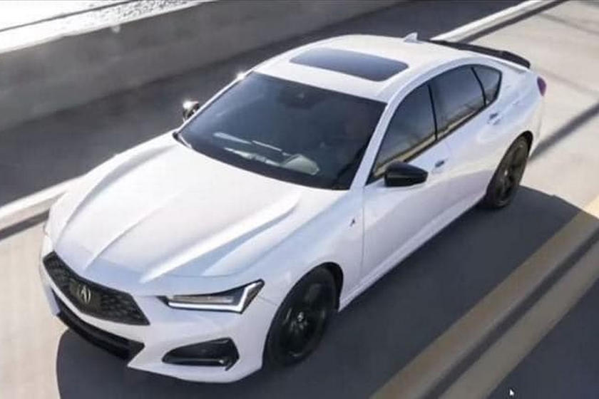 leaked! 2021 acura tlx looks just like the concept   carbuzz