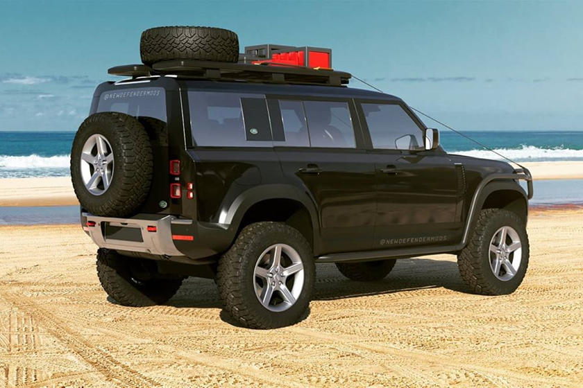 Turn Your 2020 Land Rover Defender Into A Hardcore Off ...