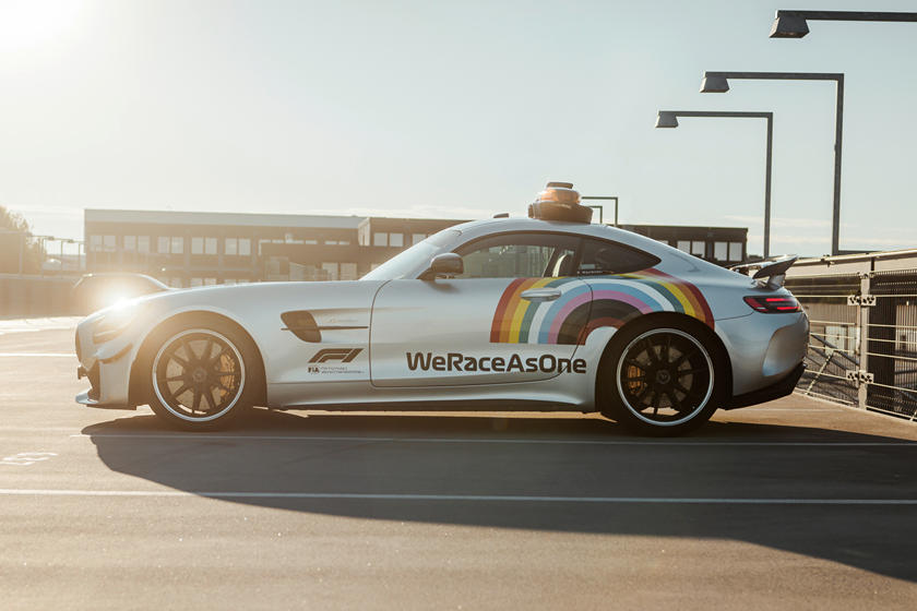 F1 Safety Car 2020 We Race As One - FIA Formula One Live ...