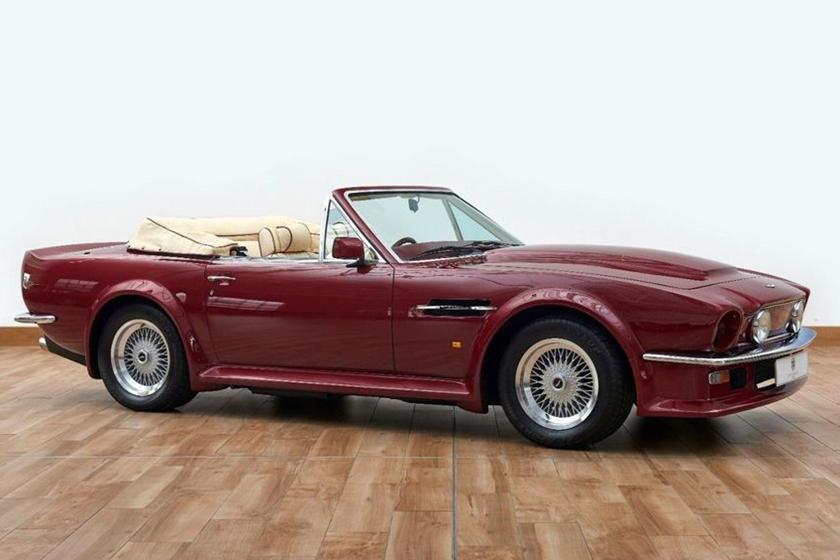 David Beckham S Rare Aston Martin V8 Volante Is A Masterpiece Carbuzz