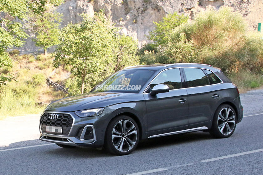 2021 audi sq5 spied completely naked  carbuzz