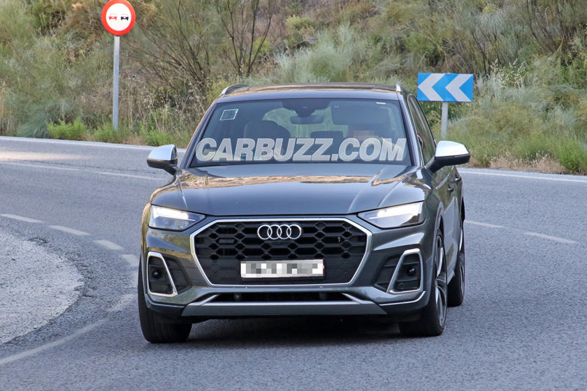 2021 Audi SQ5 Spied Completely Naked | CarBuzz