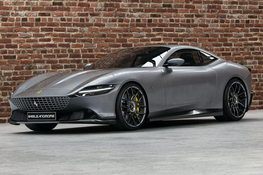 Ferrari Roma Gets 700 Hp Upgrade And New Wheels Carbuzz