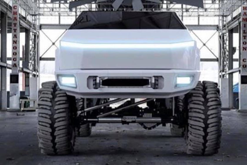 The Tesla Cybertruck Will Change Colors With Heat   CarBuzz