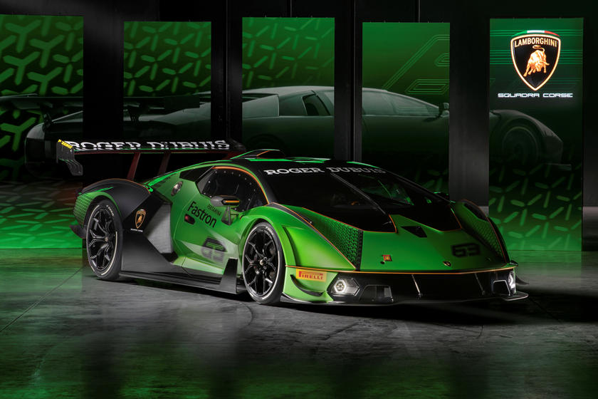 830-HP Lamborghini Essenza SCV12 Arrives With Most Powerful V12 Ever