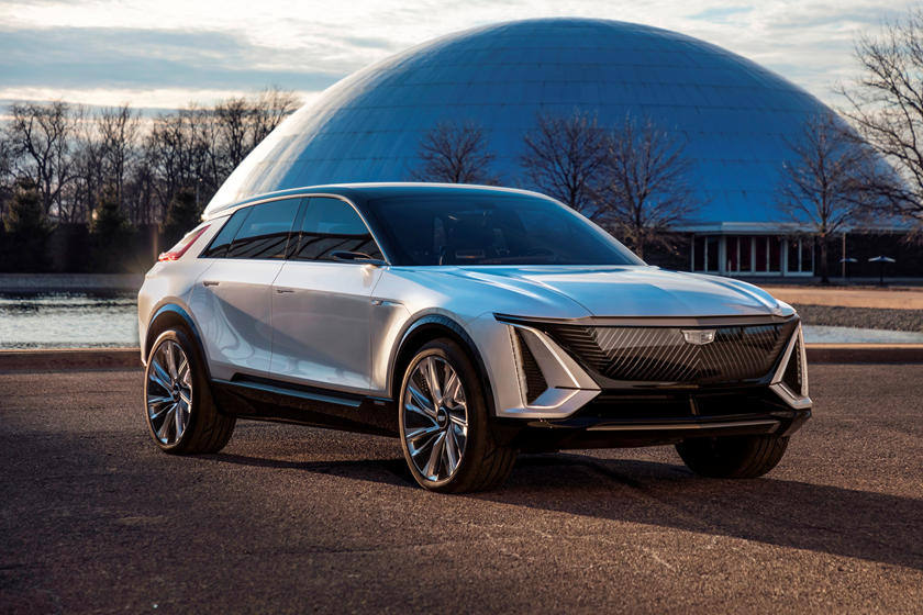 Cadillac Lyriq Unveiled With Futuristic Styling And Clever New Battery