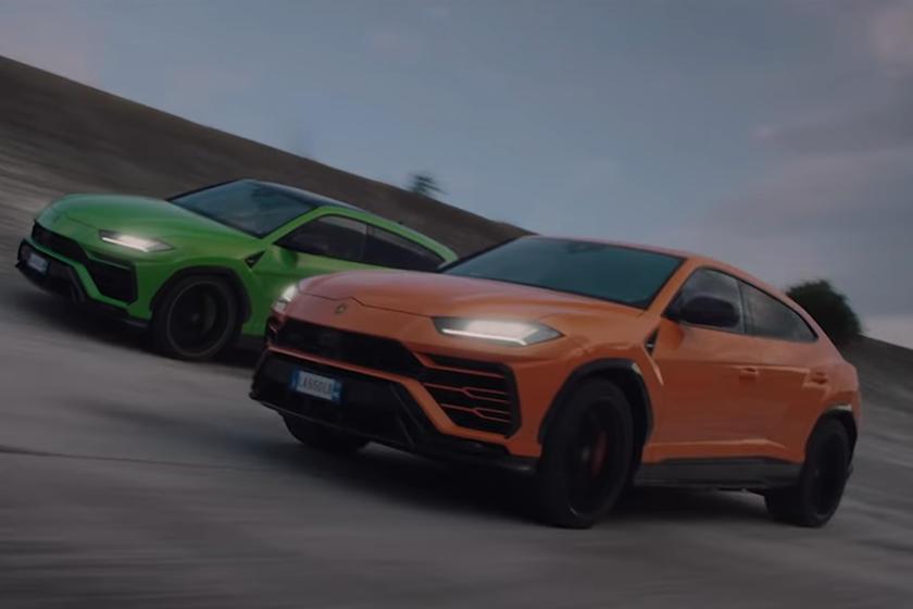 2021 Lamborghini Urus Stars In Hollywood Style Chase Carbuzz