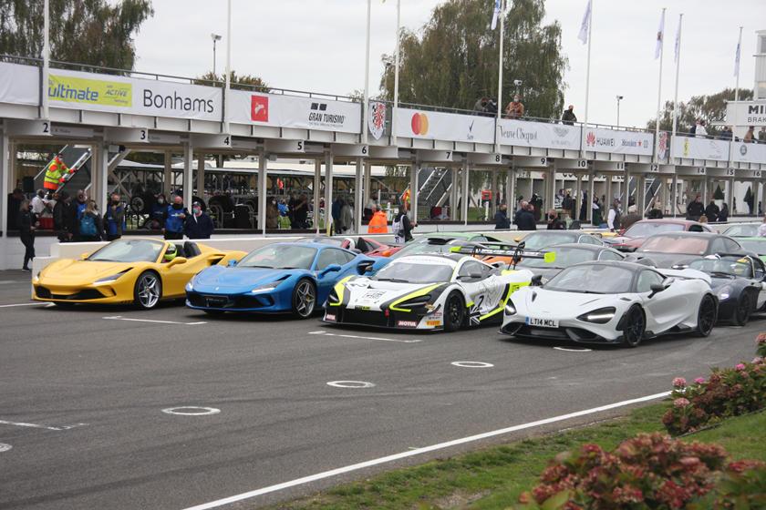 Star Cars Of Goodwood SpeedWeek 2020