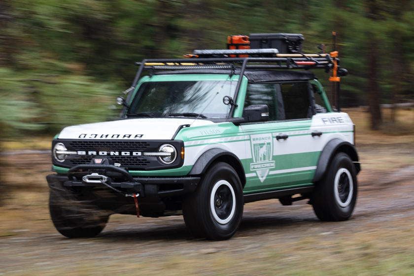 Ford Bronco Wildland Fire Rig Concept Arrives To Fight Fires