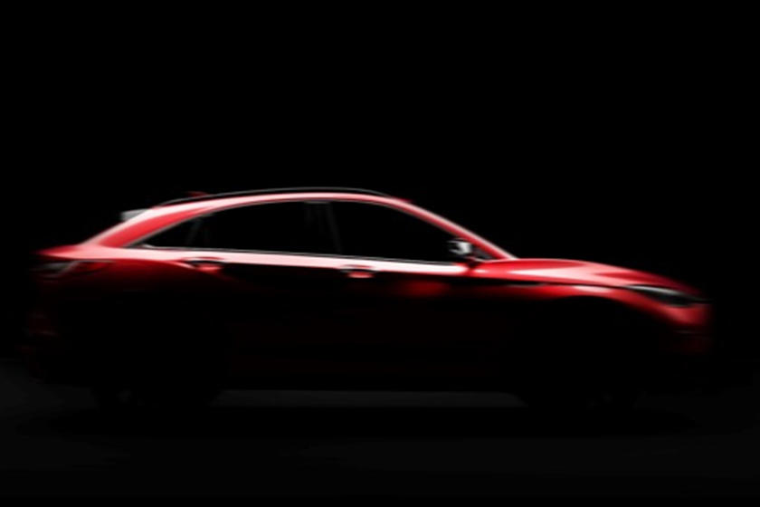 All-New Infiniti QX55 Teased One Last Time | CarBuzz